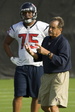 "Many, many ""zone gurus"" learned from longtime NFL coach Alex Gibbs,"